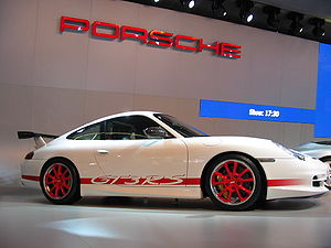 International Motor Show Germany - Porsche 996 GT3 RS at the 2003 Frankfurt Motor Show