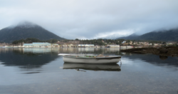 Port Edward, British Columbia as seen from across Porpoise Harbour