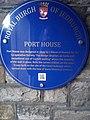 Port House plaque in Exchange Street Jedburgh.jpeg