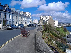 Port St Mary - Image: Port St Mary, Isle of Man Bay View Road