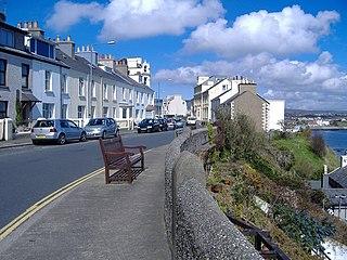 village on the Isle of Man