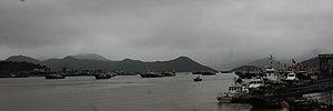 Xiangshan County, Zhejiang -  Shipu Harbour in Xiangshan County
