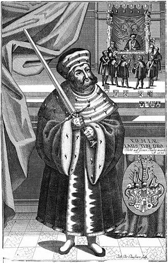 John, Elector of Saxony - Portrait of Johann of Saxony (17th Century)
