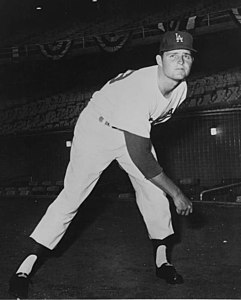 Portrait of the baseball player Don Drysdale ca1960 (cropped).jpg