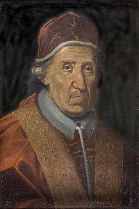 Portret van Paus Clemens XI, Jan van Helmont, schilderij, Museum Plantin-Moretus (Antwerpen) - MPM V IV 022.jpg