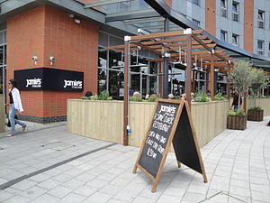 A branch of Jamie's Italian, a restaurant chai...