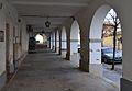 Porxos al poble nou de Belchite.JPG