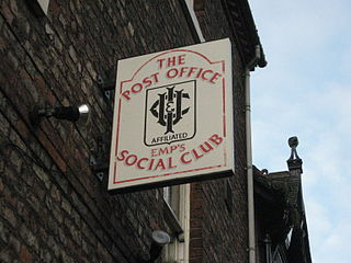 Working Mens Club and Institute Union a voluntary association of private members clubs in Great Britain & Northern Ireland