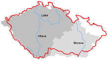 List Of Rivers Of The Czech Republic Wikipedia - Alphabetical list of rivers