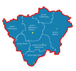 Ząbkowice Śląskie County - Image: Powiat ząbkowicki