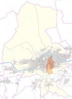 Pradl - Statistical District in Innsbruck - Lagekarte.png