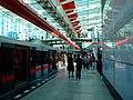 Praha, Střížkov, stanice metra Střížkov, nástupiště II.jpg