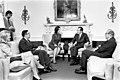 President Richard Nixon, Barbara Franklin, Dr. Herbert Stein, Dr. Marina von Neumann Whitman, and Dr. George Shultz.jpg