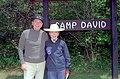 President Ronald Reagan and Nancy Reagan at Camp David Maryland - DPLA - 2a5e551724d42ade8f3a0c42dc7a52ab.jpg