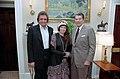 President Ronald Reagan with Jonny Cash and June Carter Cash.jpg