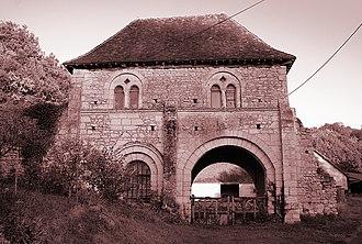 Azé, Loir-et-Cher - Priory of Courtoze