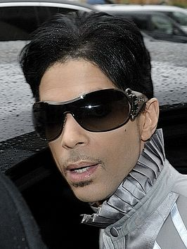 Prince in Parijs in 2009