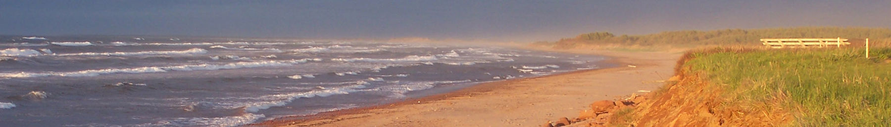 Stanhope Beach at Prince Edward Island National Park