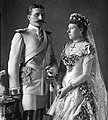 Prince Henry and Princess Beatrice in their wedding.jpg