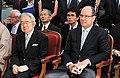 Prince Masahito and Prince Albert II cropped Prince Masahito Prince Albert II Princess Hanako and Yukiya Amano 20100713.jpg