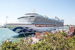 <i>Caribbean Princess</i> Cruise ship owned and operated by Princess Cruises