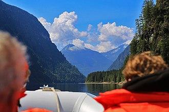 Princess Louisa Inlet - Image: Princess Louisa Inlet from boat