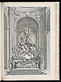 Print, Projet pour le Maitre Autel de l'Eglise de St. Sulpice de Paris (Design for the Master Altar of the Church of St. Sulpice of Paris), plate 109, in Oeuvres de Juste-Aurèle Meissonnier (Works by (CH 18222801-2).jpg