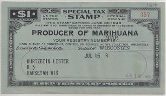 Hemp for Victory - Image: Producer of marihuana