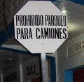 Prohibido parqueoCentro urbano de Tela.JPG