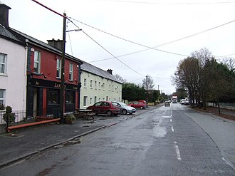 Prosperous, County Kildare - Street along R408