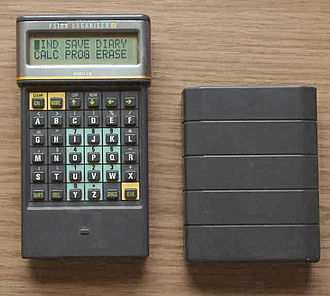 Psion Organiser - Psion Organiser II with cover
