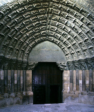 Tudela, Navarre - Cathedral - Puerta del Juicio