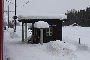 Punt Muragl (Rhaetian Railway station) - Image: Punt Muragl 010214