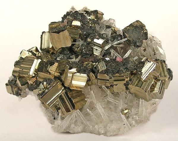 Pyrite-Tetrahedrite-Quartz-184642