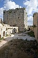 Qal'at Salah ed-Din aka Sahyun Castle at east side 4135.jpg