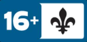 Régie du cinéma (Quebec) - Image: Quebecrating 16