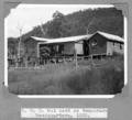 Queensland State Archives 4554 BCC hut used as temporary headquarters Stanley River 1935.png
