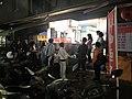 Queue of Buying Popiah at Xindong Street, Songshan District, Taipei 20180409.jpg