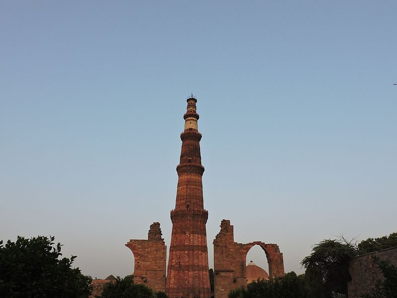 Qutb Minar - Evening photo.jpg