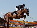 Rêveur de Hurtebise ridden by Kevin Staut at the 2016 Olympic Games in Rio de Janeiro (cropped).jpeg