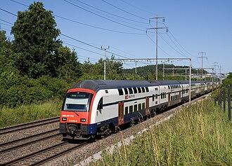 S8 (ZVV) - S8 service near Effretikon.