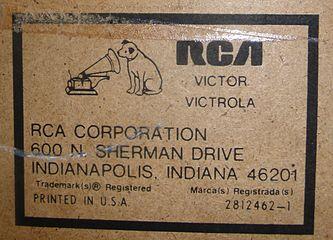 RCA Dimensia Victrola logo