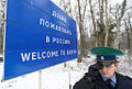 RIAN archive 1052479 Work of border guards on Russian-Lithuanian border in Ribachy village, Kaliningrad region.jpg