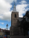 foto van Eenvoudige gotische toren