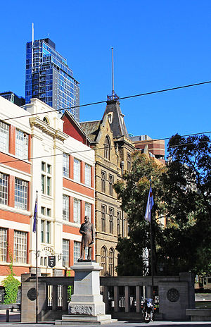 RMIT University - School of Art buildings on the Melbourne City campus