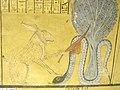 Ra slays Apep (tomb scene in Deir el-Medina).jpg