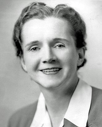 Futures studies - Rachel Carson, author of The Silent Spring, which helped launch the environmental movement and a new direction for futures research.