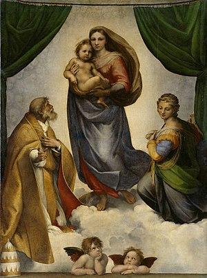 Raphael, Sistine Madonna, 1513