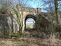 Railbridge over footpath - geograph.org.uk - 1166761.jpg