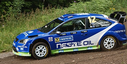 Kankkunen on the Laajavuori stage of the 2010 Rally Finland Rally Finland 2010 - EK 1 - Juha Kankkunen.jpg